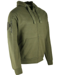 Kombat uk Spec Ops Military Fleece Hoodie Tactical Hoody Olive Green